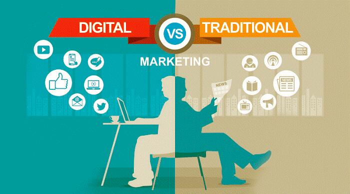 Digital-marketing vs. Traditional Marketing