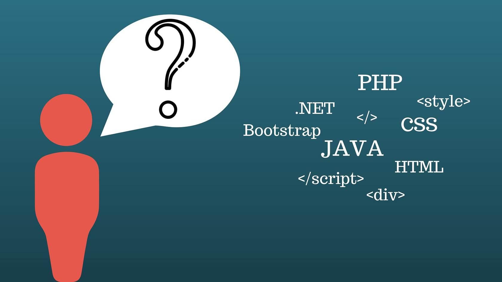 Выбор языка программирования от отрасли