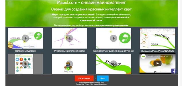 Программы для создания майндмэп - Mapul