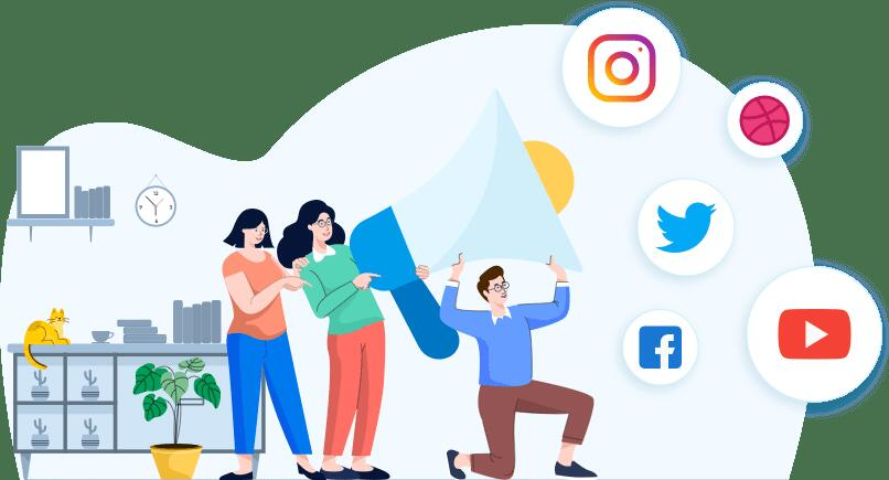 Пост в соцсети - виды текстов в копирайтинге