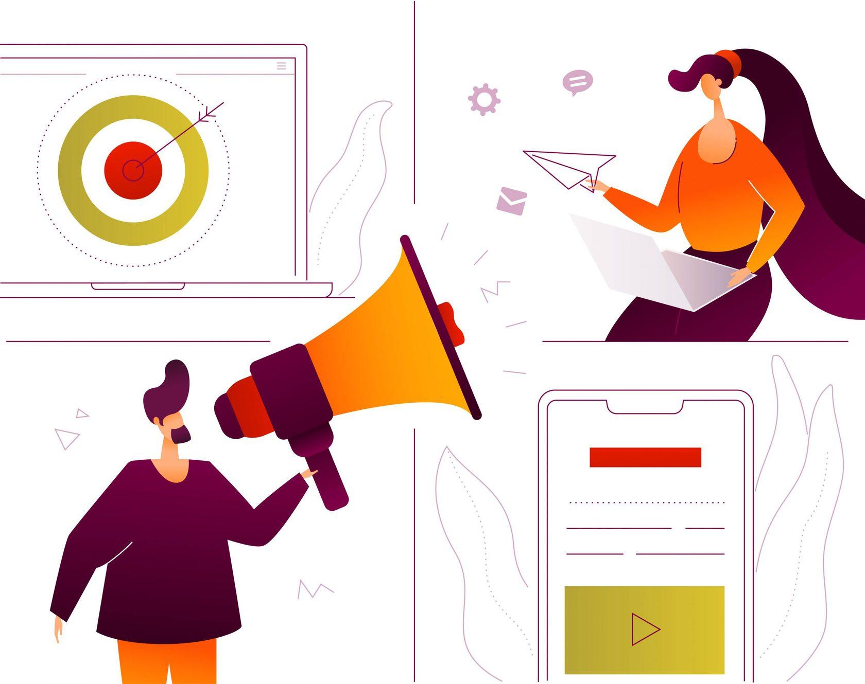 Как продавать товары и услуги в социальных сетях - реклама