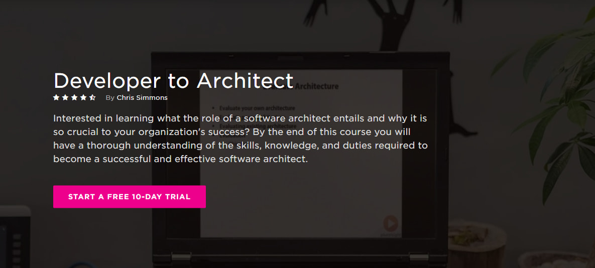Записаться на курс «Developer to Architect» от PluralSight