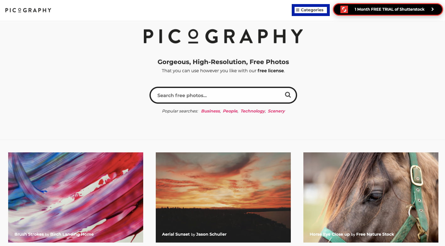 Picography — фотосток