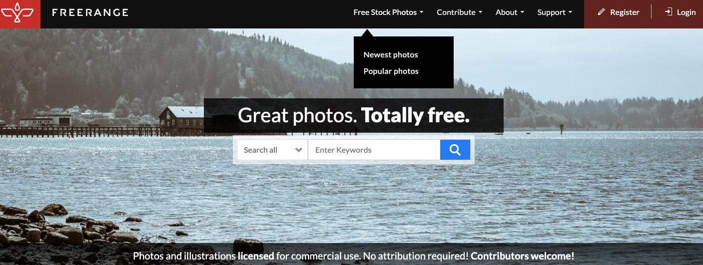Freerange Stock — фотобанк