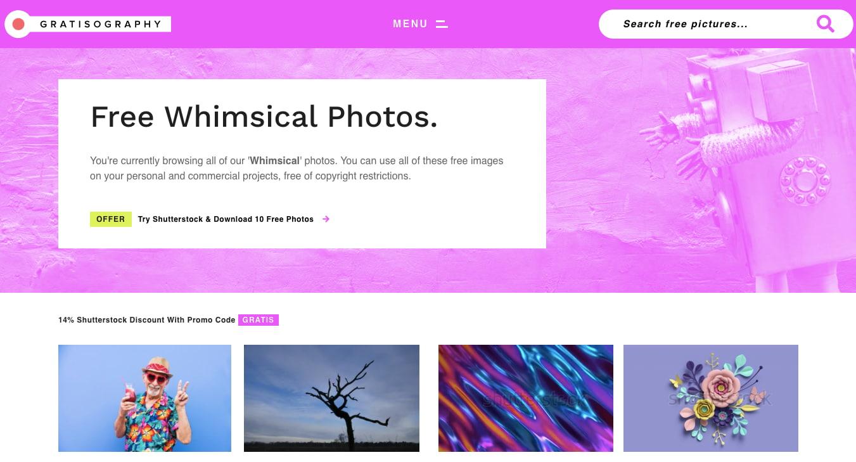 Gratisography — фотосток с яркими и необычными иллюстрациями