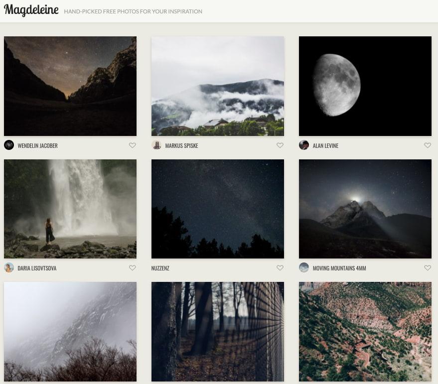 Magdeleine — фотобанк
