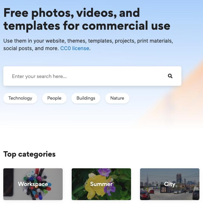 focastock — фотобанк с бесплатными изображениями