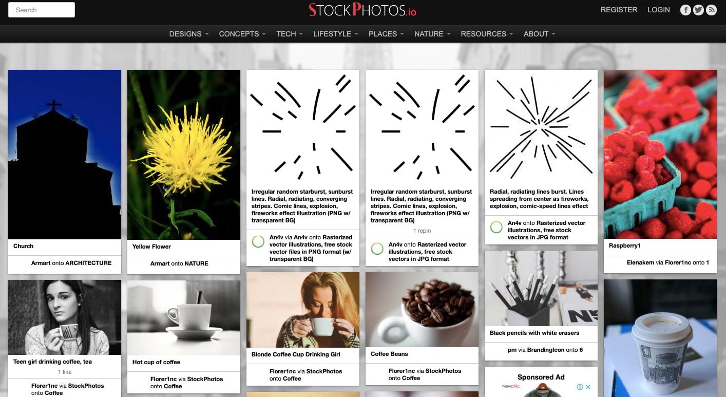 StockPhotos.io — фотосток