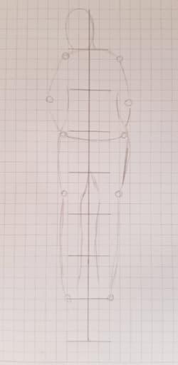 Этап 5. Прорисуйте линии одежды