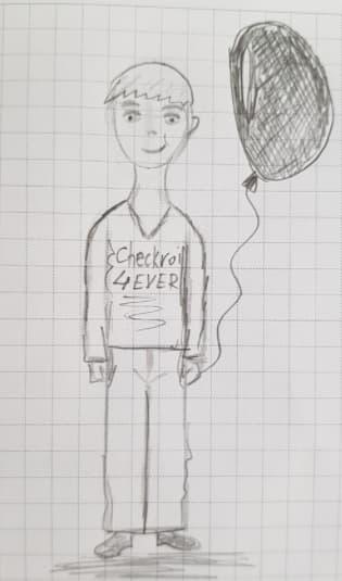 Как нарисовать мальчика шаг 6