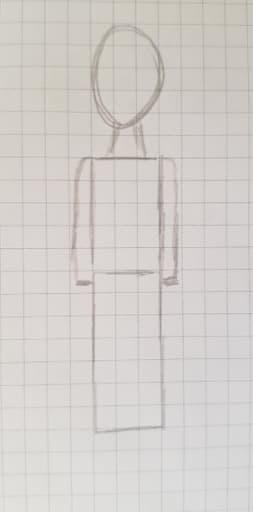 Как нарисовать мальчика шаг 3