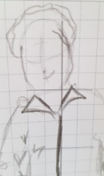Этап 8. Нарисуйте лицо 1.1