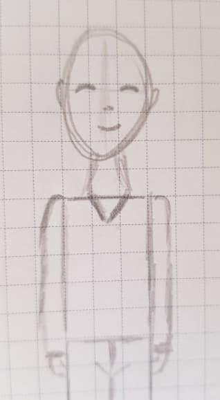 Как нарисовать мальчика шаг 5