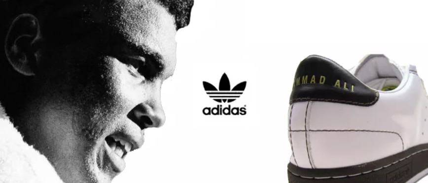 Реклама Adidas c Мохаммедом Али