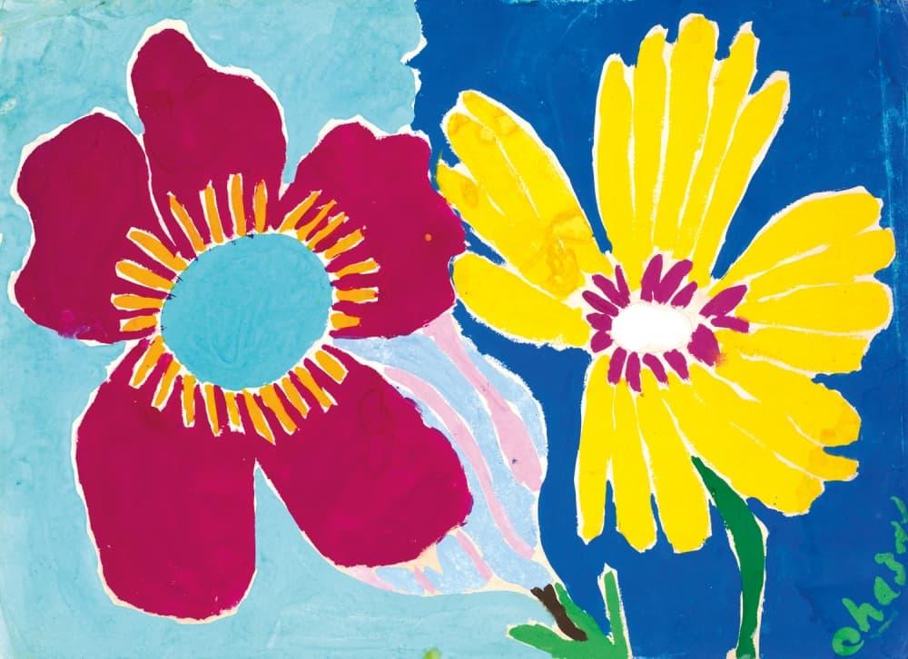Любовь к цветам де Шазаль выражал в живописи: эта картина «Азалии» его авторства