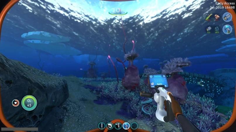 Фрагмент игры Subnautica Below Zero. Работа художника Евгения Пака в составе команды FOX3D