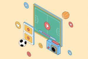 Курс «Контент-мейкер в спорте» от Skillbox
