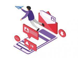 Курс «Как получать клиентов и партнеров через сообщения в Facebook, Email и LinkedIn» от Edston